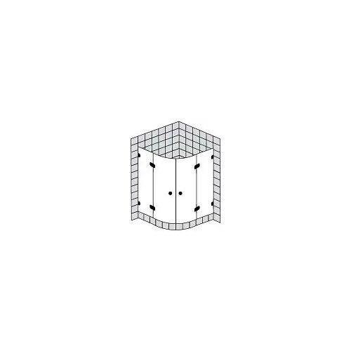 Sprinz BS-Dusche Runddusche mit 2 Türen bis 100 x 100 x 200 cm BS-Dusche B: 100 T: 100 H: 200 R: 55 cm chrom BS27.2-CH