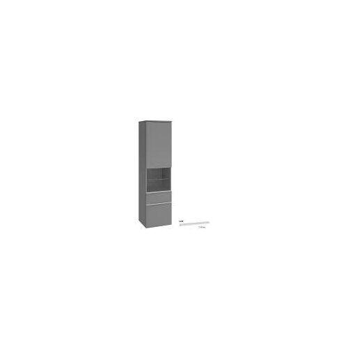 Villeroy & Boch Venticello Hochschrank 40,4 cm, Anschlag links Venticello B: 40,4 T: 37,2 H: 154,6 cm weiß matt A95202MS