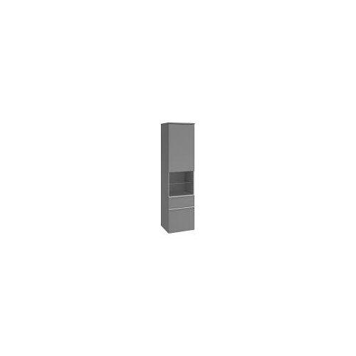 Villeroy & Boch Venticello Hochschrank 40,4 cm, Anschlag links Venticello B: 40,4 T: 37,2 H: 154,6 cm weiß matt A95205MS