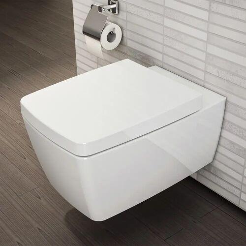 VitrA Metropole Wand-WC mit Bidetfunktion Metropole B: 36 T: 56 cm weiß mit vitraclean 5676B403-0559