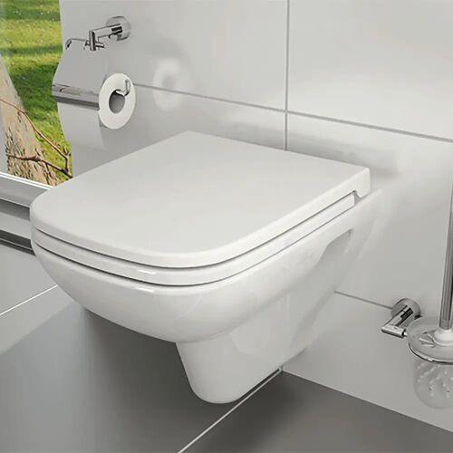 VitrA S20 Wand-WC Tiefspüler mit Spülrand, mit Bidetfunktion S20 B: 36 T: 52 cm weiß 5507B003-0850