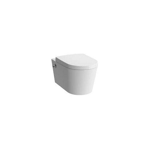 VitrA Options Nest Wand-WC VitrAflush 2.0 mit Bidetfunktion und Thermostat-Armatur Options Nest B: 35,5 T: 57 cm weiß 5176B003-7211