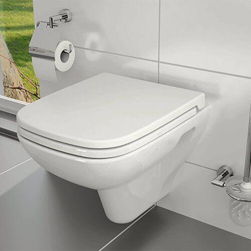 VitrA S20 Wand-WC VitrA Flush 2.0 Tiefspüler ohne Spülrand, mit Bidetfunktion  B: 36 T: 52 cm weiß 7507B003-0850