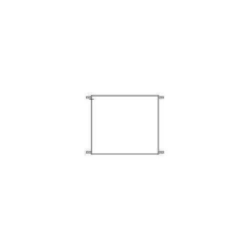 Emco Einbaurahmen für evo Einbau-Spiegelschrank 80 x 70 cm für evo Einbau-Spiegelschrank 80 x 70 cm   939700002