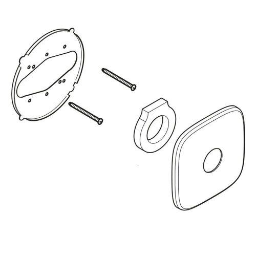 Kludi Ersatz-Rosette zu UP-Thermostat E2 für UP-Thermostat chrom 7321805-00