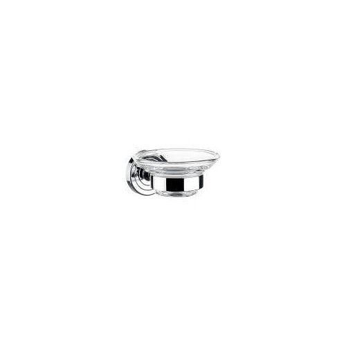 Emco Polo Seifenhalter Polo mit Kristallglasschale, klar chrom 073000100