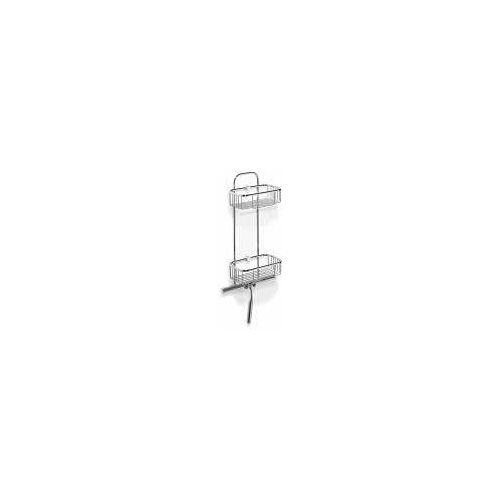 Giese Duschkörbe Dusch 2 mit Wischer Duschkörbe B: 20 / 25,5 T: 12,5 H: 59 cm chrom 30227-02