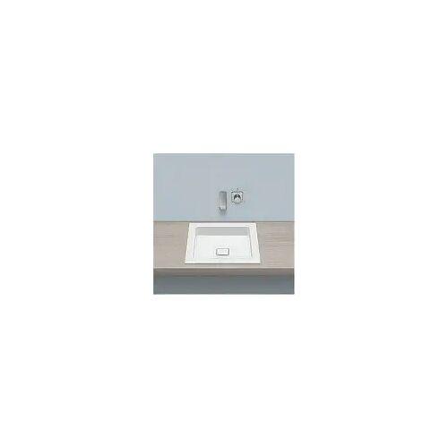 Alape Einbaubecken EB.Q450, quadratisch 45 x 45 cm Einbaubecken B: 45 T: 45 H: 7,9 cm weiß 2302000000