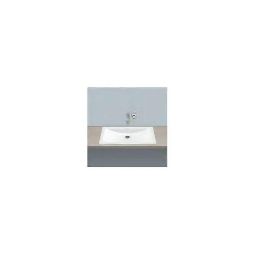 Alape Einbaubecken EB.R800 Einbaubecken (B/T/H) 80 x 45 x 11 cm weiß 2203000000