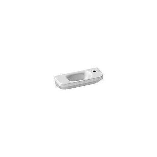Duravit DuraStyle Handwaschbecken 50 cm, mit 1 Hahnloch rechts DuraStyle B: 50 T: 22 cm weiß 0713500008