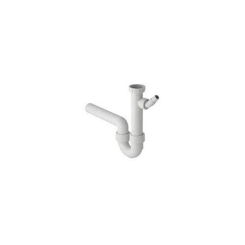 Geberit Spülensifon DN 50 mit Anschluss für Wasch- oder Spülmaschine Spülensifon DN 50 weiß   152.711.11.1