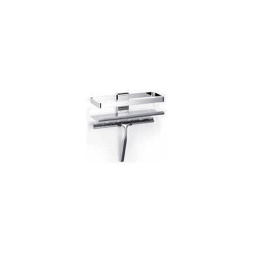 Giese Duschkorb Newport mit Halter für Rasierer und Wischer Duschkörbe B: 26 T: 10 H: 27,5 cm chrom 30820-02