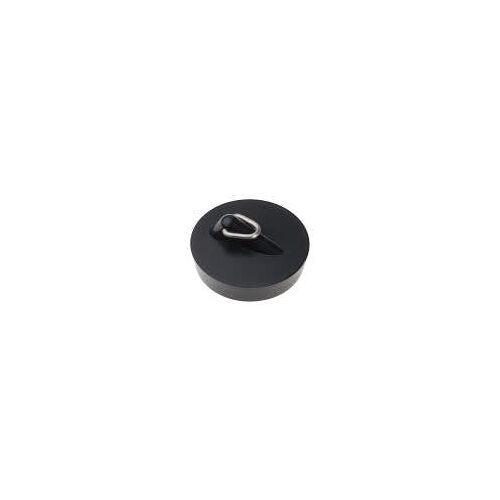 HAAS Kunststoff-Spülenstopfen Komfort Ø 43,5 mm Kunststoff schwarz  6145