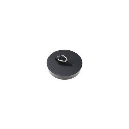 HAAS Kunststoff-Spülenstopfen Komfort Ø 50,5 mm Kunststoff schwarz  6148