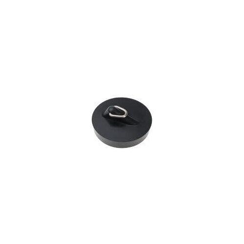 HAAS Kunststoff-Spülenstopfen Komfort Ø 45,5 mm mit Magnet Kunststoff schwarz  6155