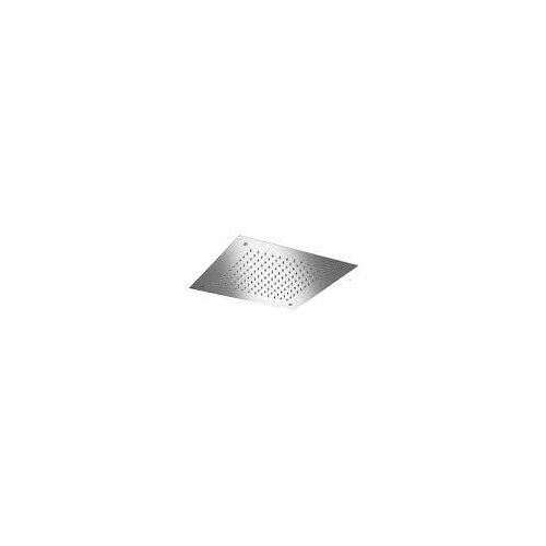 Herzbach Living Spa Farblicht-Regenbrause 38 x 38 cm Living Spa / iX mit LED Farblichttherapie edelstahl poliert 11.603800.2.01