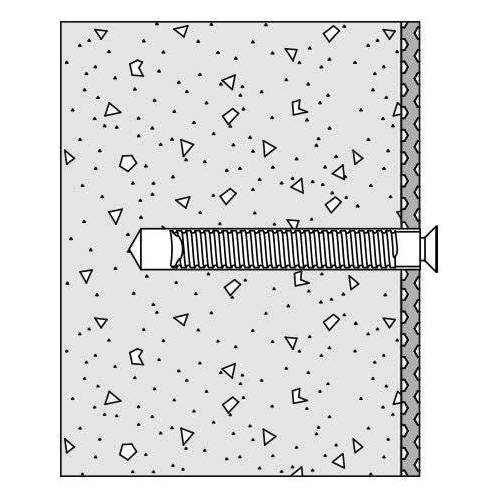 HEWI Befestigungsmaterial BM17.3M Befestigungsmaterial für Beton  BM17.3M