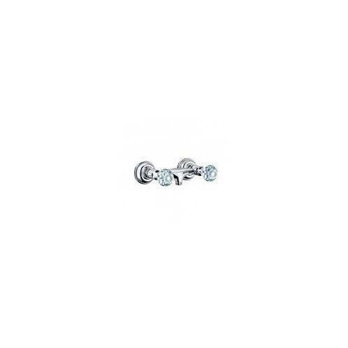 Kludi Adlon Brausearmatur mit Kristallgriffe Adlon für Wandmontage chrom 5161005G5