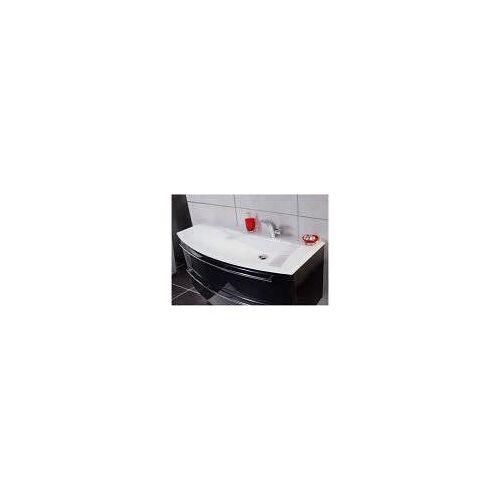 Puris Crescendo Glas Möbelwaschtisch 120,6 cm, Ablage links Crescendo B: 120,6 T: 54 H: 1,2 cm optiwhite SWG112L82