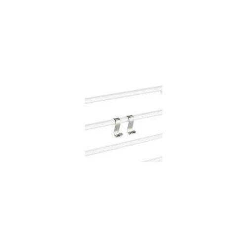 Smedbo Dry Handtuchhaken für Handtuchwärmer Dry B: 2,2 T: 5,2 H: 6,4 cm chrom FK730