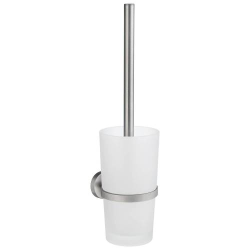 Smedbo Home Toilettenbürstengarnitur Home H: 48 cm chrom matt HS333