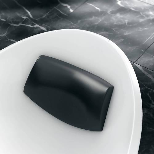 Victoria & Albert Amalfi Kopfstütze Amalfi schwarz passend zur Amalfi Badewanne HR-AML-BK