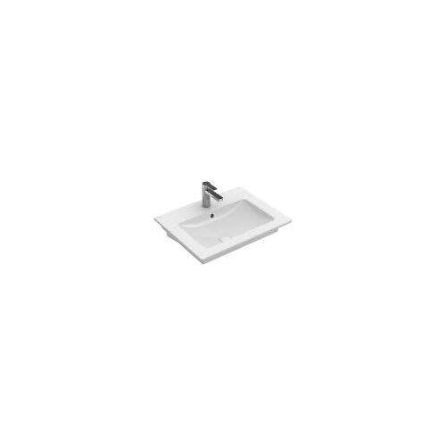 Villeroy & Boch Venticello Waschtisch 60 x 50 cm mit 1 Hahnloch und Überlauf Venticello B: 60 T: 50 cm weiß 4124G601