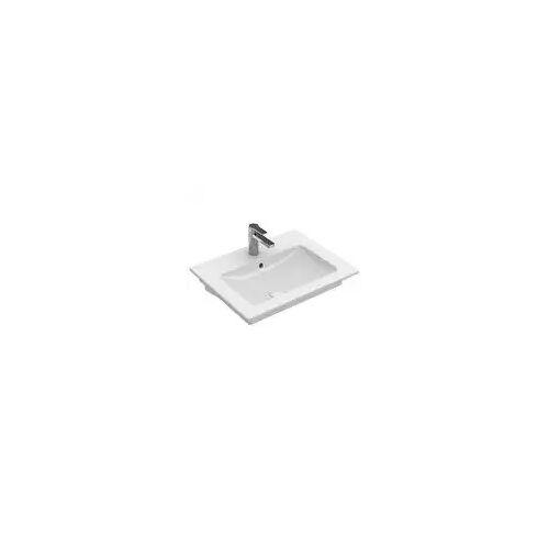 Villeroy & Boch Venticello Waschtisch 65 x 50,5 cm mit 1 Hahnloch Venticello B: 65 T: 50,5 H: 17 cm weiß 41246501