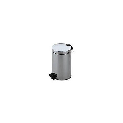 Keuco Abfallbehälter  5 l-Abfallbehälter aluminium silber eloxiert 04988170000