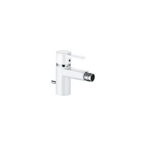 Kludi Zenta Bidet-Einhandmischer  mit Ablaufgarnitur weiß/chrom 385309175