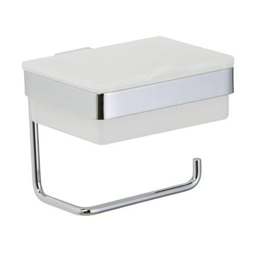 Kronenbach Plana 2.0 Papierhalter mit Feuchttuchbox Plana 2.0 B: 15,5 T: 15,2 H: 13,9 cm chrom 45027101904