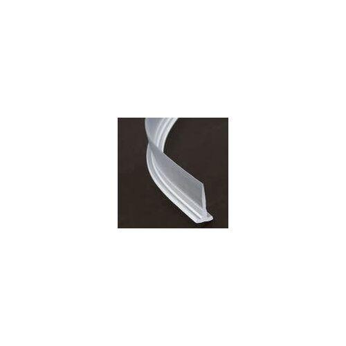 HSK waagerechte Ersatz-Einschubdichtungen für Architekt R Runddusche 3-teilig Premium softcube  transparent E79067-HSTR3100