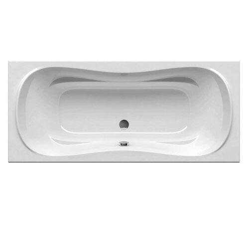 RAVAK Campanula II rechteckige Badewanne 170 x 75 cm Campanula II L: 170 B: 75 H: 44,5 cm weiß CA21000000