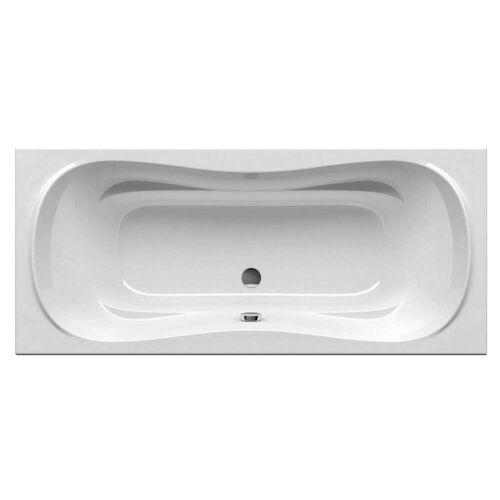 RAVAK Campanula II rechteckige Badewanne 180 x 80 cm Campanula II L: 180 B: 80 H: 44,5 cm weiß CB21000000