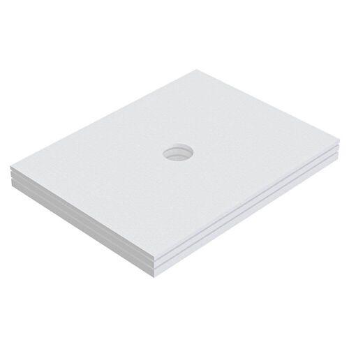 Schedel Plan Unterbauelement 120 x 90 cm bodeneben, 3er Set Plan B: 120 T: 90 cm 3-teilig, für Plan Duschelemente bodeneben SA 32287
