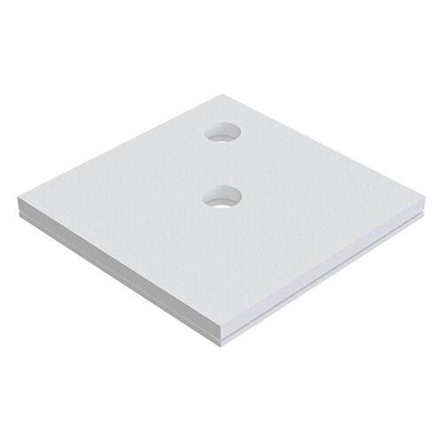 Schedel Plan Unterbauelement 140 x 140 cm bodeneben, 2er Set Plan B: 140 T: 140 cm 2-teilig, für Plan Duschelemente bodeneben SA 32222