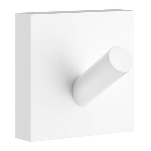 Smedbo House Handtuchhaken House B: 4,5 T: 4 H: 4,5 cm matt weiß RX355