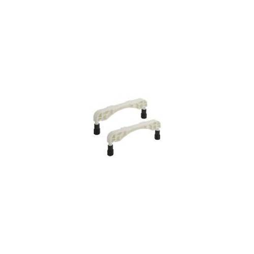 Villeroy & Boch Kunststoff-Wannenfüße für Acryl- & Quarylwannen mit flachem Boden Kunststoff Wannenfüße für Acrylwannen mit flachem Boden