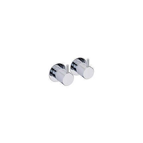 Vola Wand-Badewannen-Zweigriffmischer UP zur Befüllung über den Überlauf Badewannen-Zweigriffmischer Standard chrom 70116