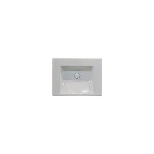 Bette BetteAQUA Einbauwaschtisch 60 x 49,5 cm ohne Hahnloch BetteAqua B: 60 T: 49,5 H: 8 cm weiß A050-000