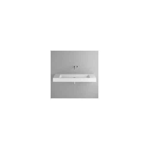Bette BetteAQUA Wandwaschtisch mit Falzrand 140 x 49,5 cm ohne Hahnloch BetteAQUA B: 140 T: 49,5 H: 12,5 cm weiß A052-000