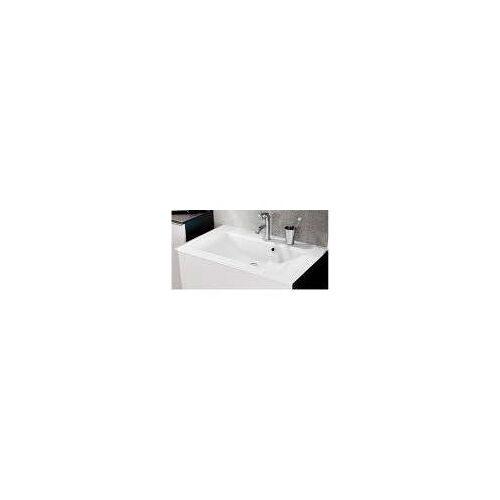 Fackelmann Glasbecken 80 x 50 cm serienübergreifend B: 80 T: 50 H: 14,5 cm weiß 86295