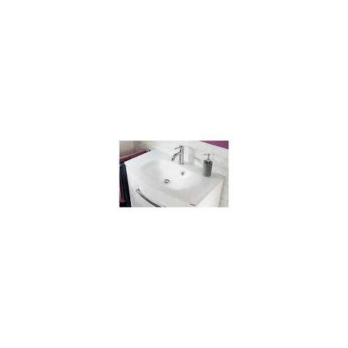 Fackelmann Glasbecken 81 cm serienübergreifend B: 80,5 T: 46 H: 13 cm weiß 73609