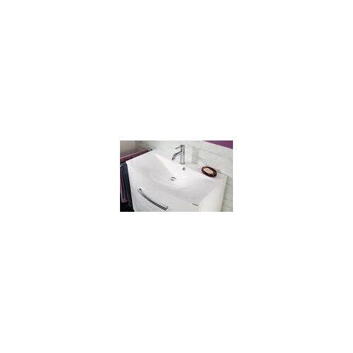 Fackelmann Gussbecken 81 cm serienübergreifend B: 80,5 T: 46 H: 15,5 cm weiß 73600
