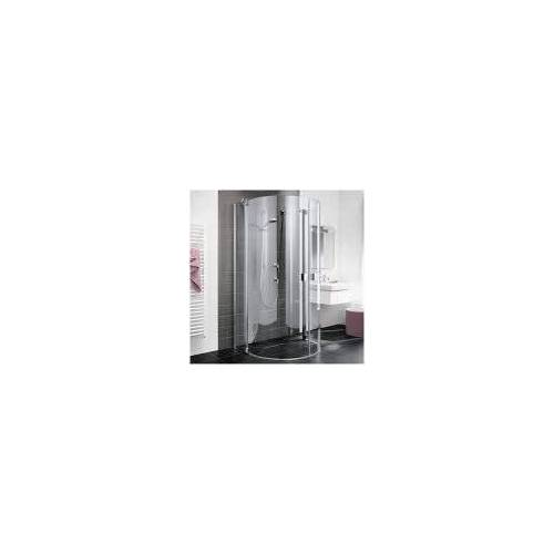Kermi Raya Halbkreis-Duschkabine 107,6 x 85,5 cm  B: 107,6 T: 85,5 H: 200 cm  RAZ20090201PK