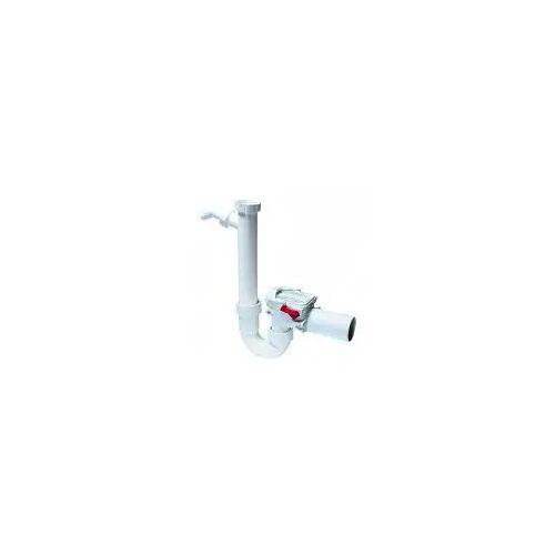Kessel Staufix Siphon Rückstaudoppelverschluss DN 50 Staufix H: 17 - 31 cm  73052