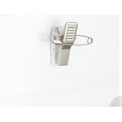 OutletXX Namensschilder 50er Set Kartenhülle Ansteck Namensschild PVC Namensschild Clip