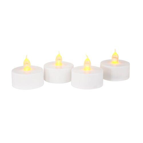 VBS LED Dekolicht »Teelichter LED Teelichte mit Timer«, 4 Stück