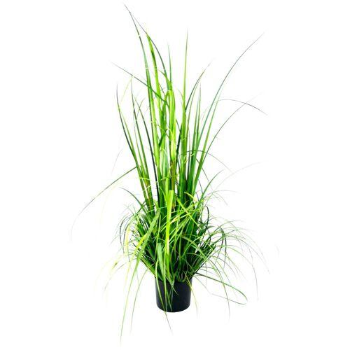 I.GE.A. Kunstpflanze »Gras im Topf« Gras, , Höhe 150 cm, grün