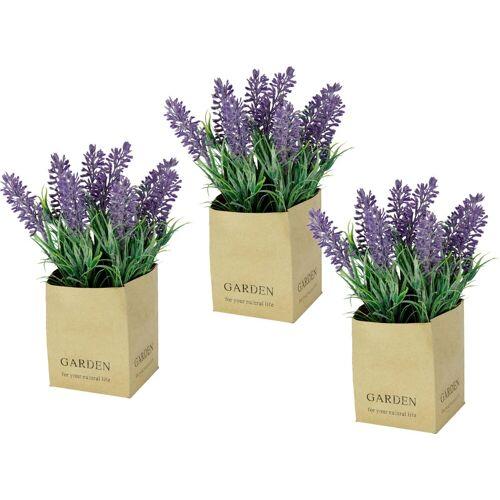 I.GE.A. Kunstblume Lavendel, , Höhe 20 cm, im Topf
